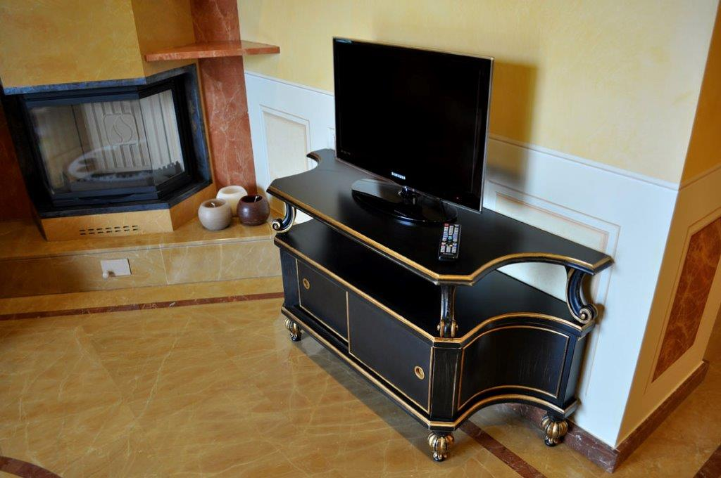 porta tv isella oro arredamento