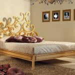 bed modern letto isella