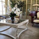 tavolino table classic vetro