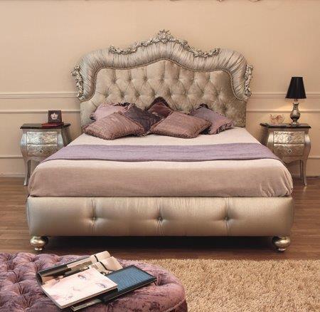 bedroom letto classic imbottito